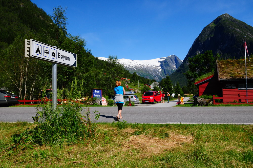 Bøyum Camping - Find us next to the Glacier Museum
