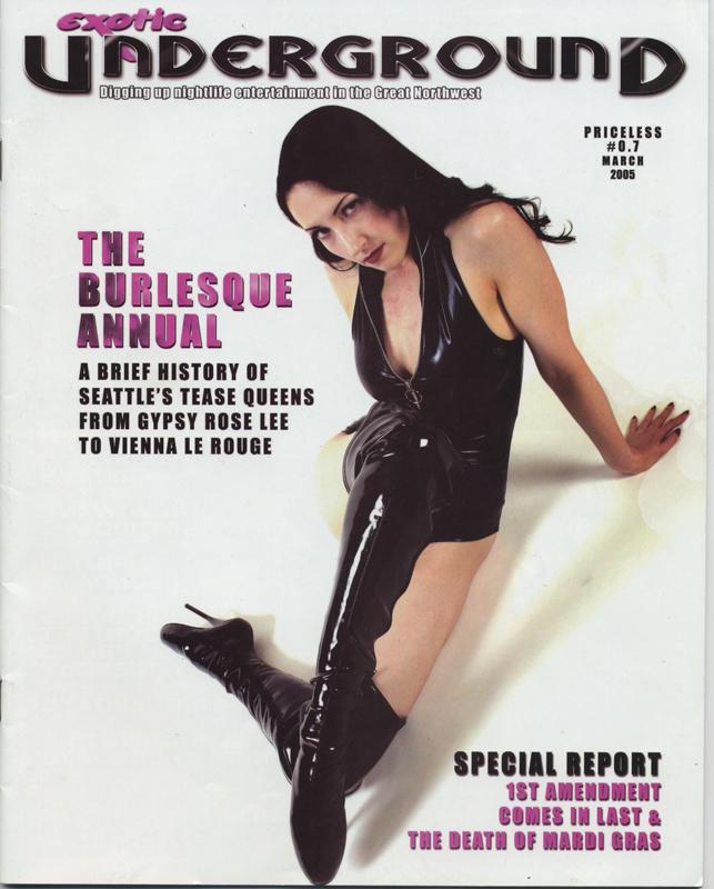 Exotic Underground Magazine, Seattle, USA