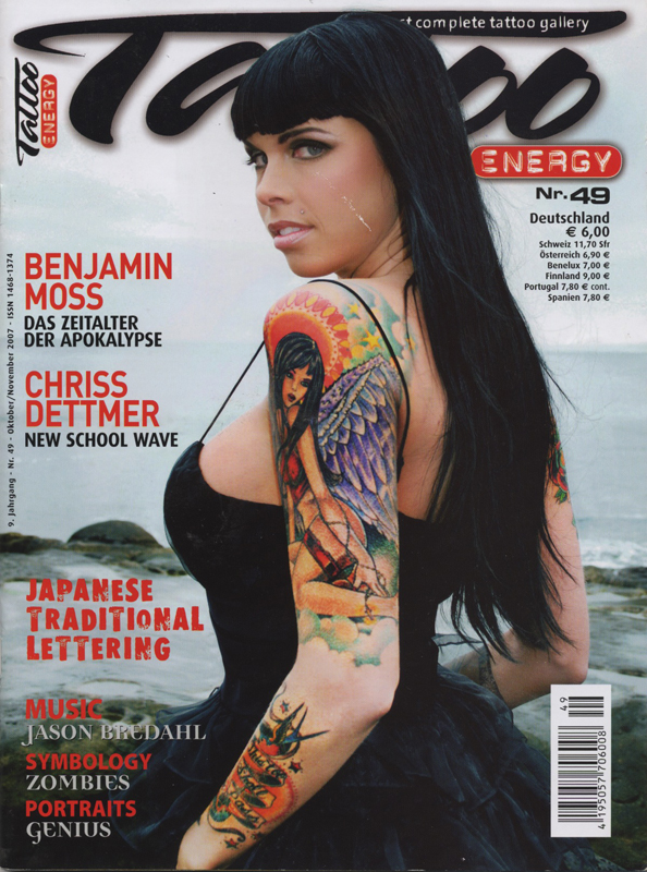 Tattoo Energy Magazine, Italy, International