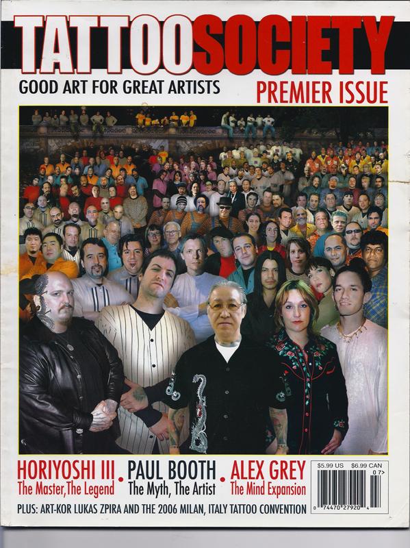 Tattoo Society Magazine, USA