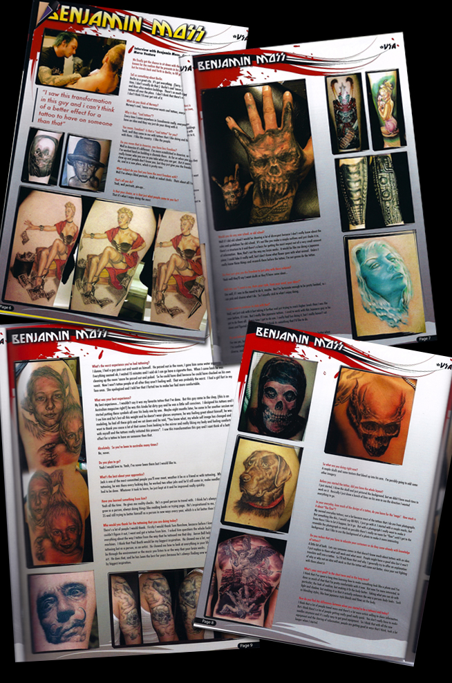 Custom TATTOOZ Magazine, Australia