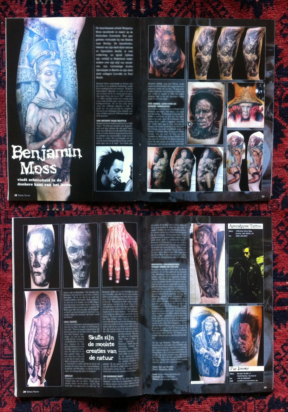 Tattoo Planet Magazine, Netherlands