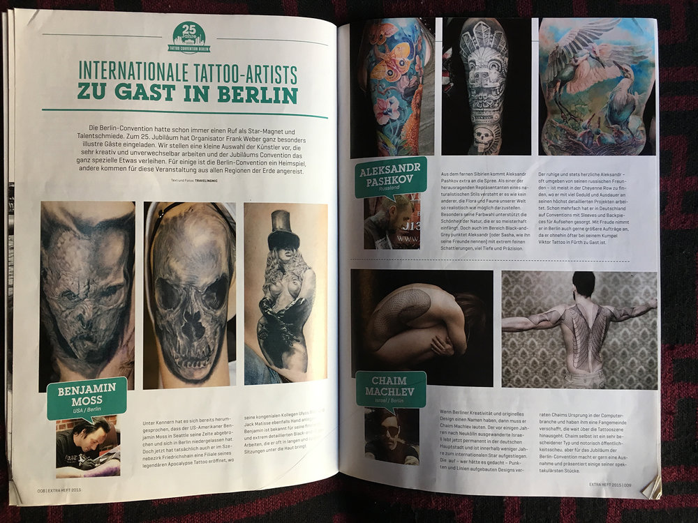 Tätowier Magazin (special edition), Germany