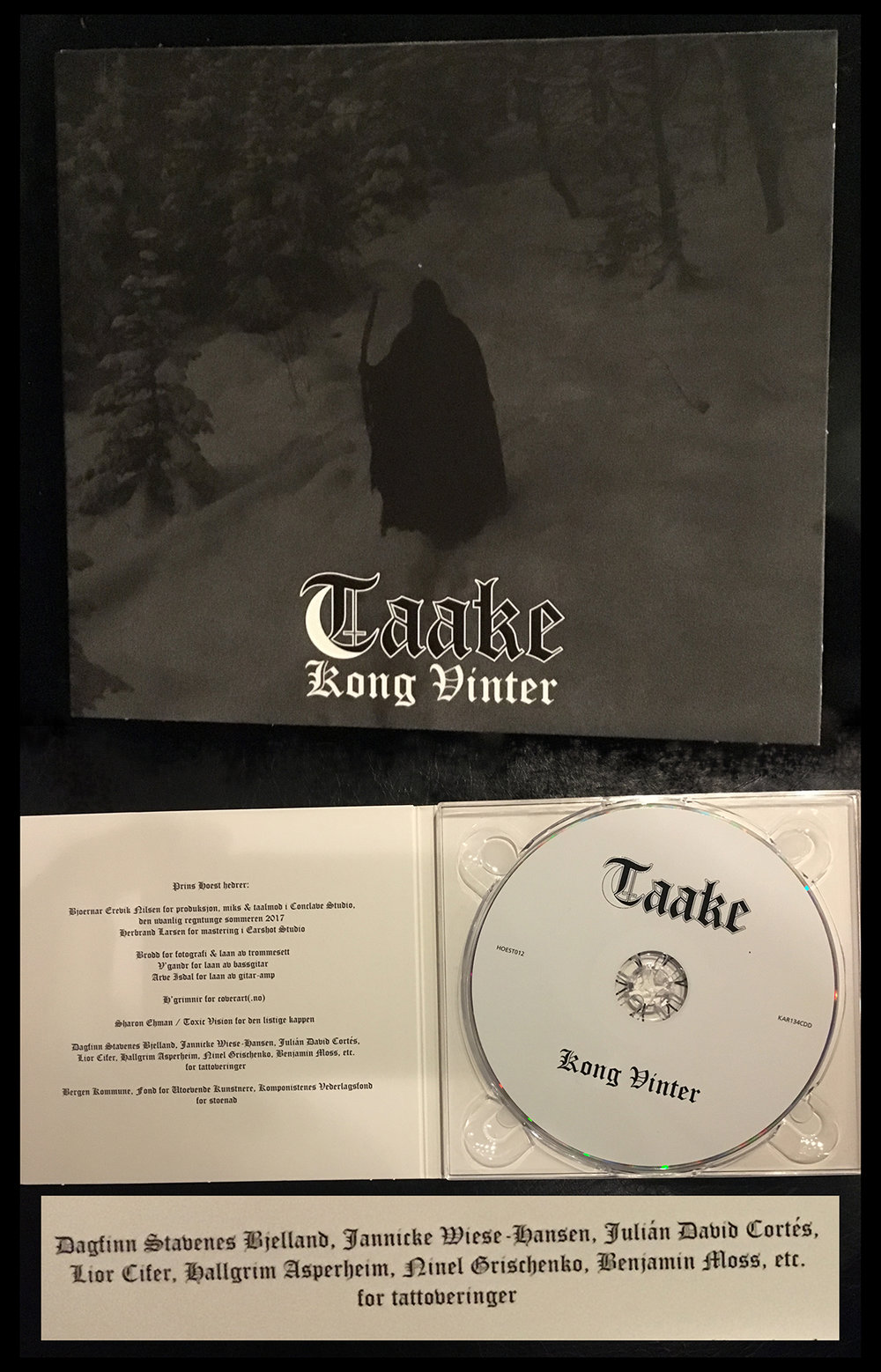 Taake -Kong Vinter, with Benjamin Moss and Liorcifer