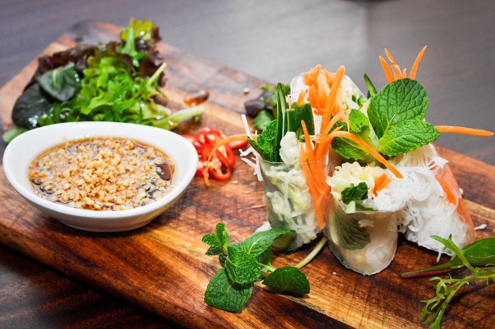 Vegetable Fresh Spring Roll (GF)