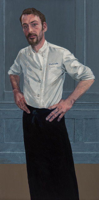 David Giddings, oil on board   Selected for Royal Society of Portrait Painters Annual Exhibition Mall Galleries, 2017.