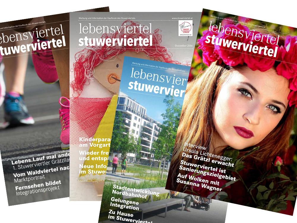"""Im Rahmen der Wiener Einkaufsstraßen Awards 2016 konnte das Magazin den 3. Platz in der Kategorie """"Bester Vereinseigener Medienauftritt"""" gewinnen!"""
