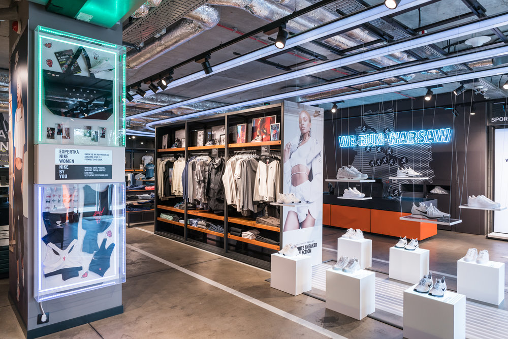 Visual Merchandising dla ForPro - Nike Royal Wilanów