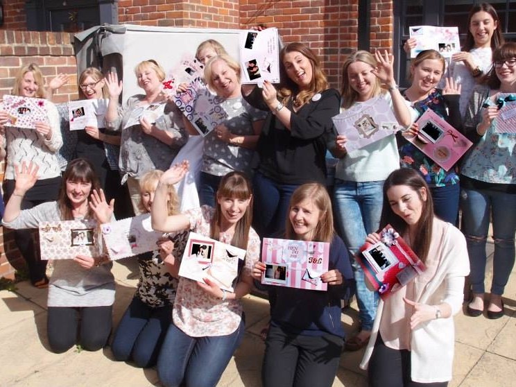 Wedding Hen Party Scrapbooking Workshop Suffolk The Crafty Hen