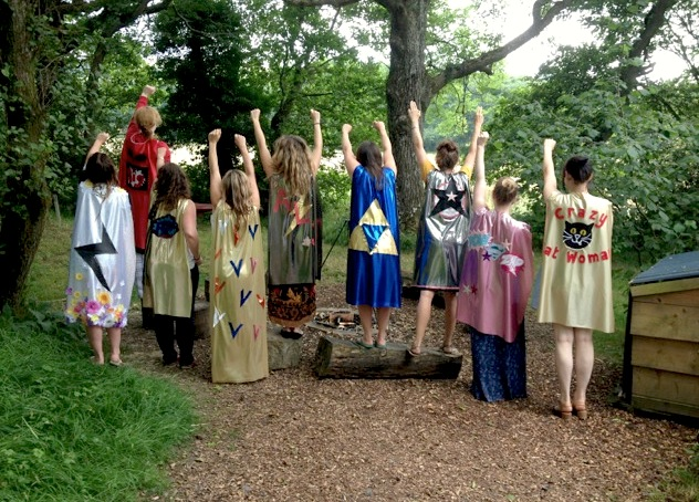 Alternative, Fun, Unusual, Activity, Hen Party, Activity, Idea, DIY, Superhero Cape.jpg