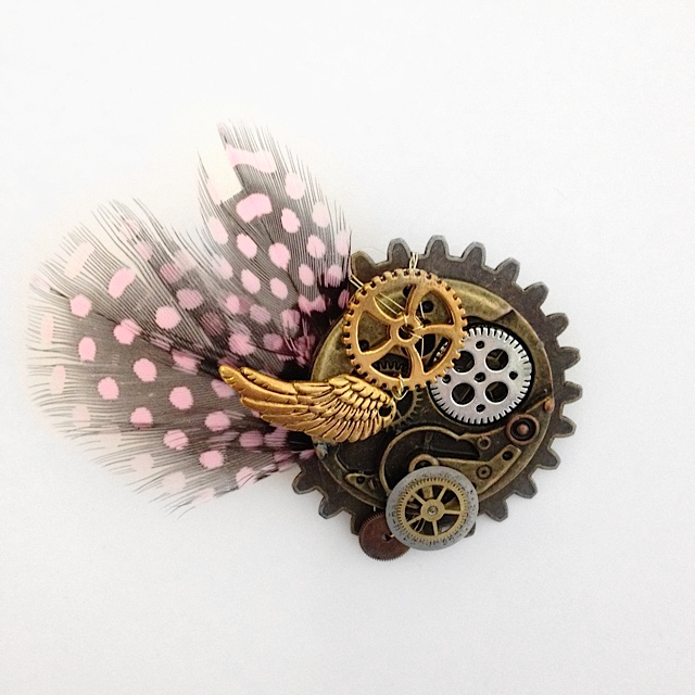 Steampunk inspired wedding jewellery workshop