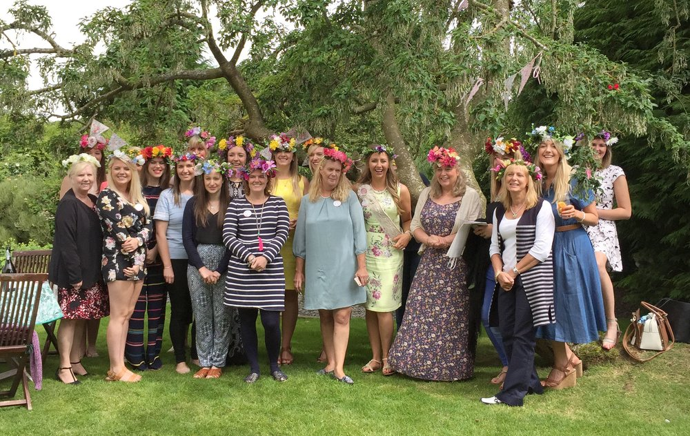 Flower Crown Hen Party Conwy The Crafty Hen