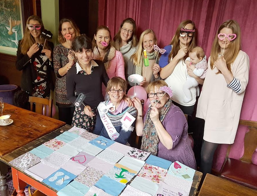 Bristol Craft Hen Do, Quilting Class