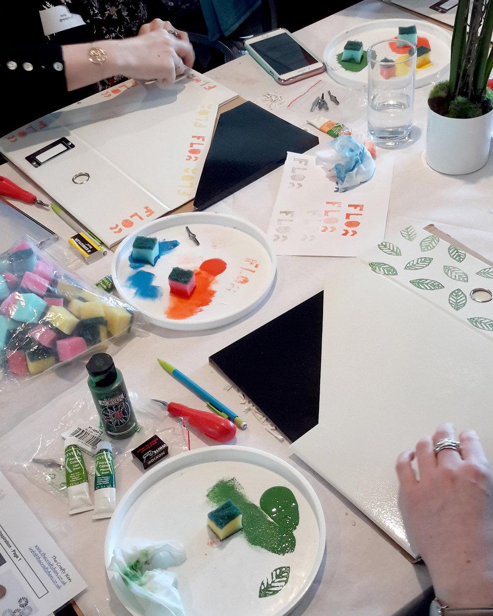 The Crafty Hen Corporate Creative Workshop Idea Manchester.jpg