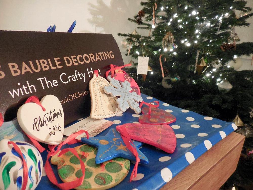 Christmas Craft Workshop Regent Street London