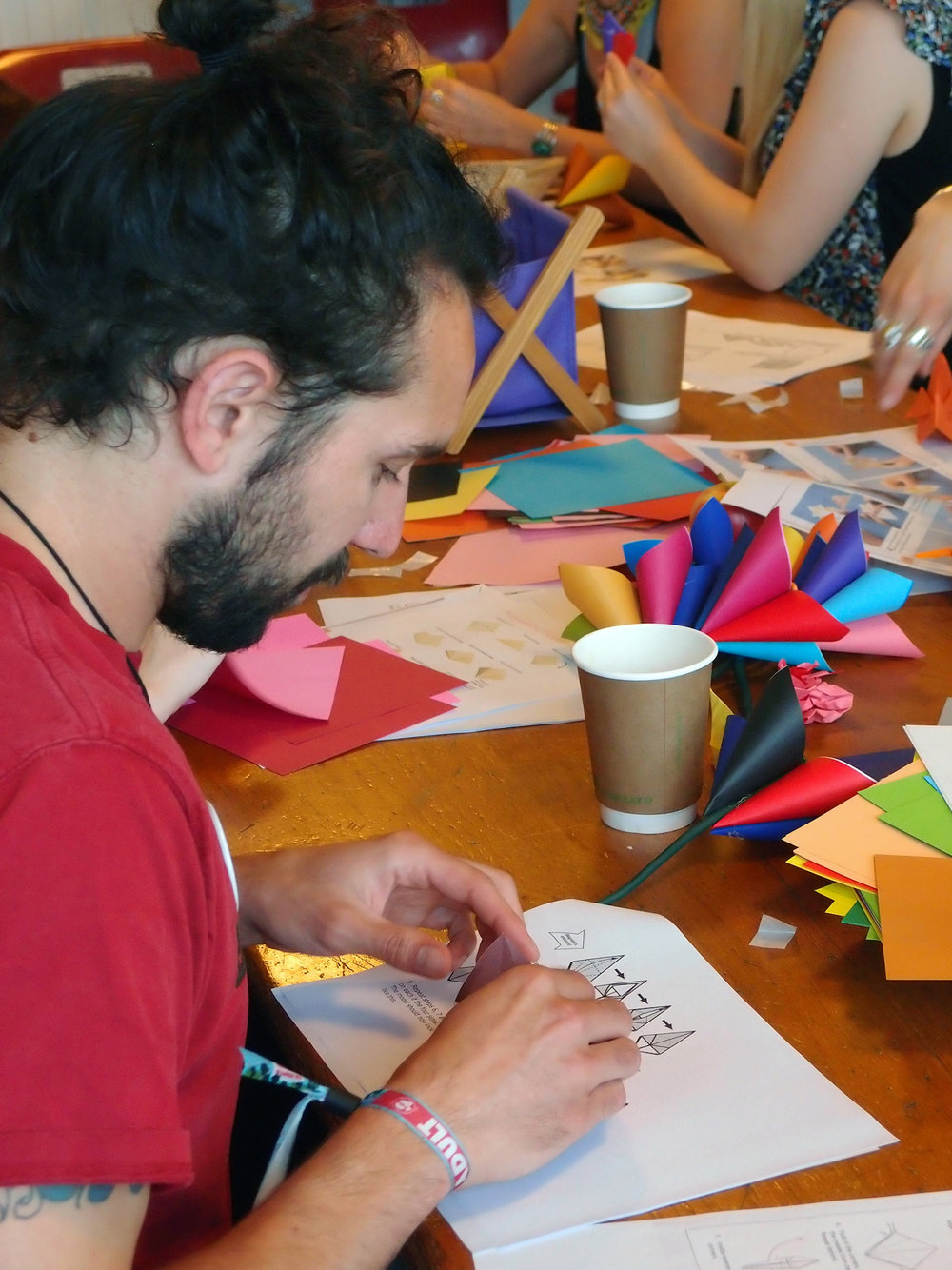 Origami Creative Team Building Craft Workshop Idea