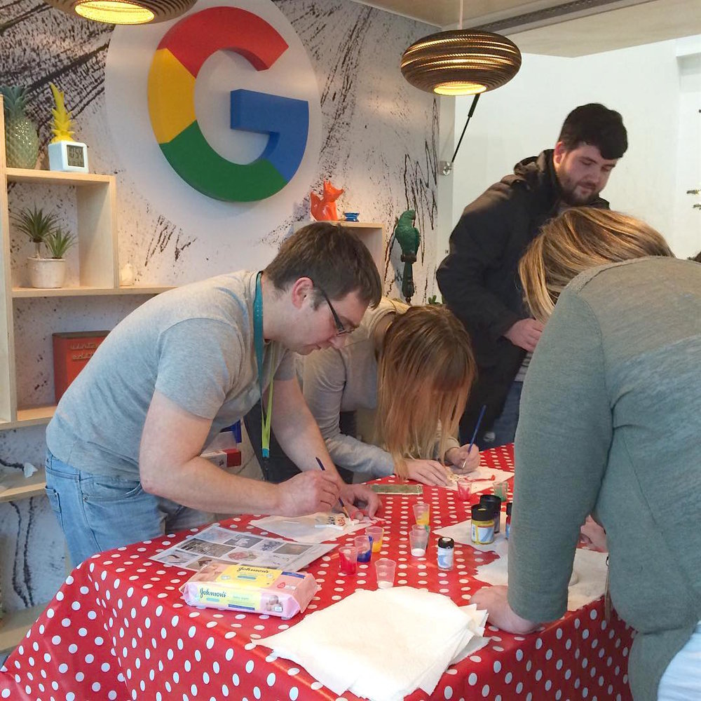 Google Glasgow Creative Team Activity Workshop