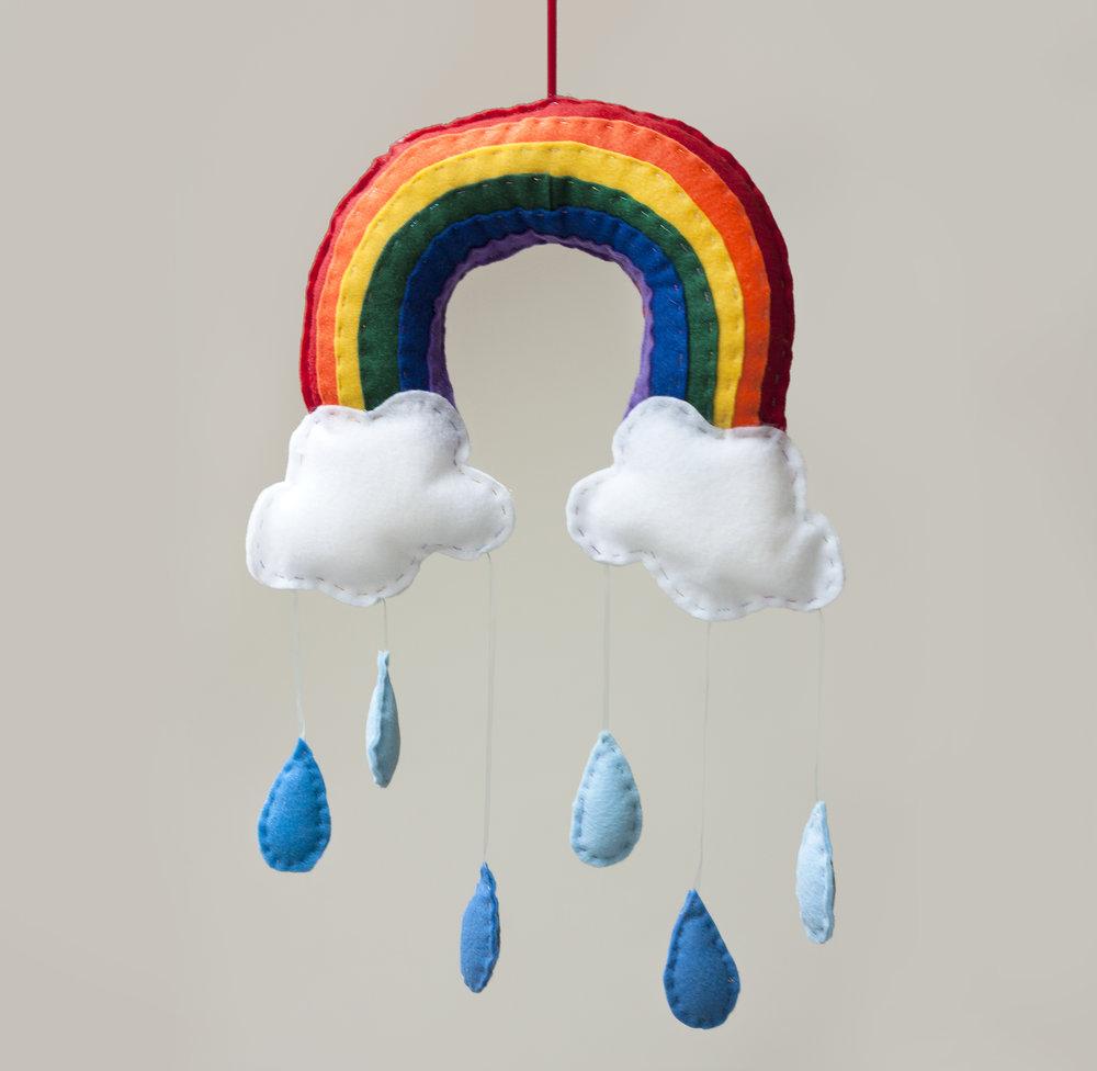 Rainbow Mobile The Crafty Hen.jpg