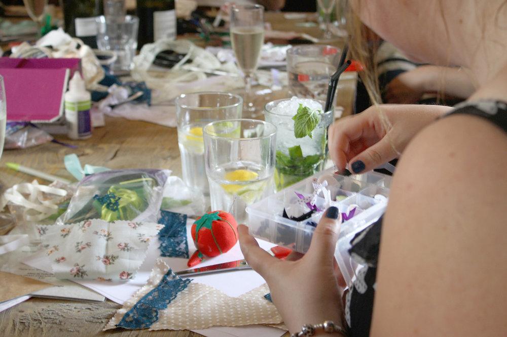 cocktails and craft workshop