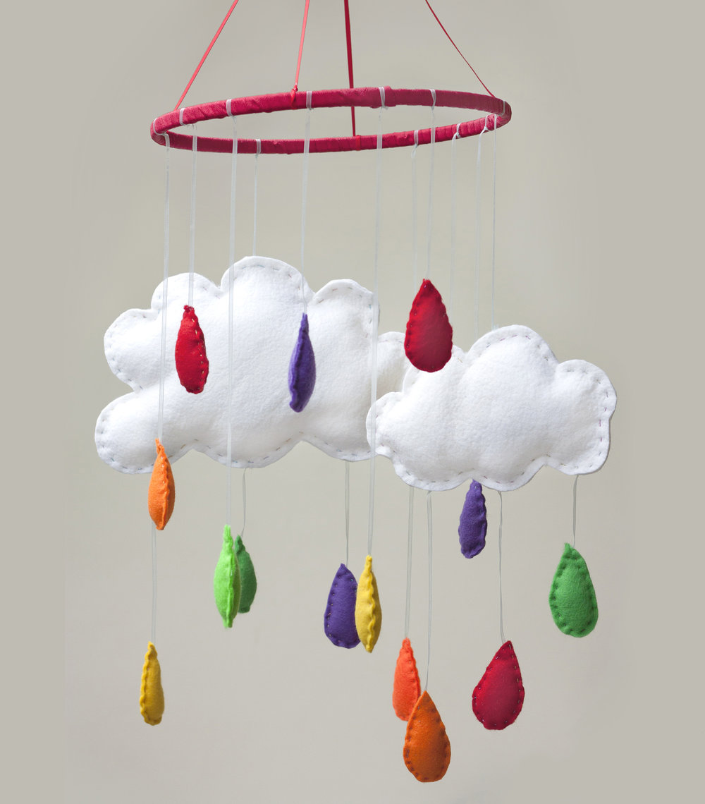 Cloud Felt Baby Mobile The Crafty Hen.jpg