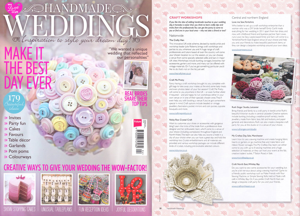 Handmade Weddings Magazine