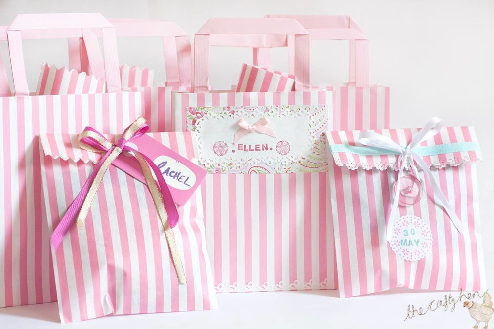 customise hen party bags