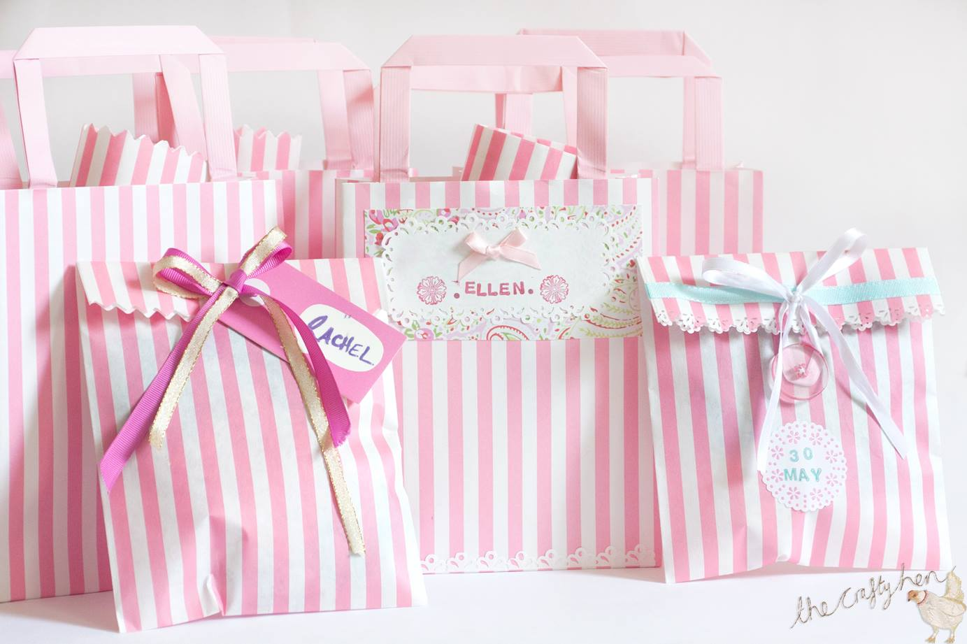 henbox diy party bags the crafty hen