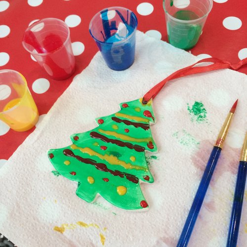 our holiday ceramic painting workshops are a great idea as an alternative works do festive team fun day or family gathering this christmas - Paint Your Own Ceramic Christmas Decorations
