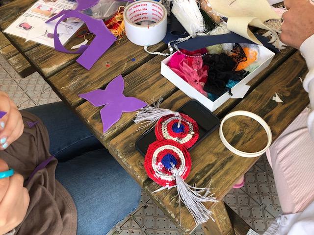 nipple tassel workshop crafty hen party liverpool