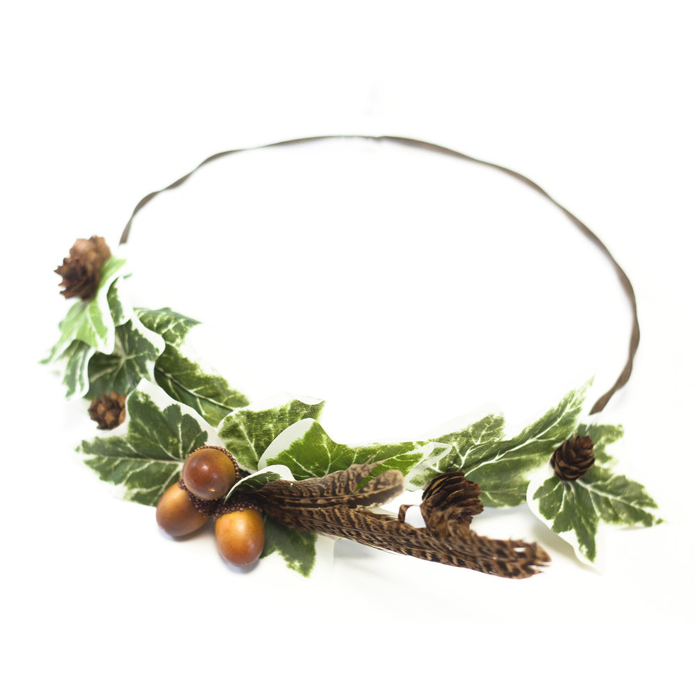 Ivy Pine Cone Crown Workshop The Crafty Hen s.jpg