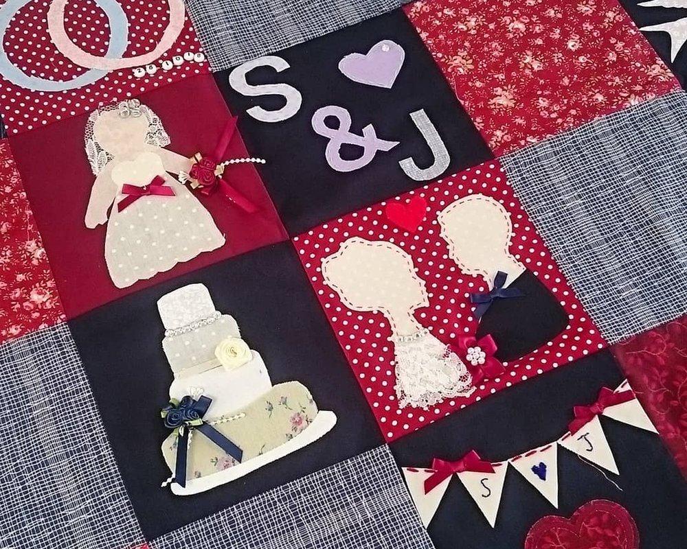 wedding quilt hen party activity idea