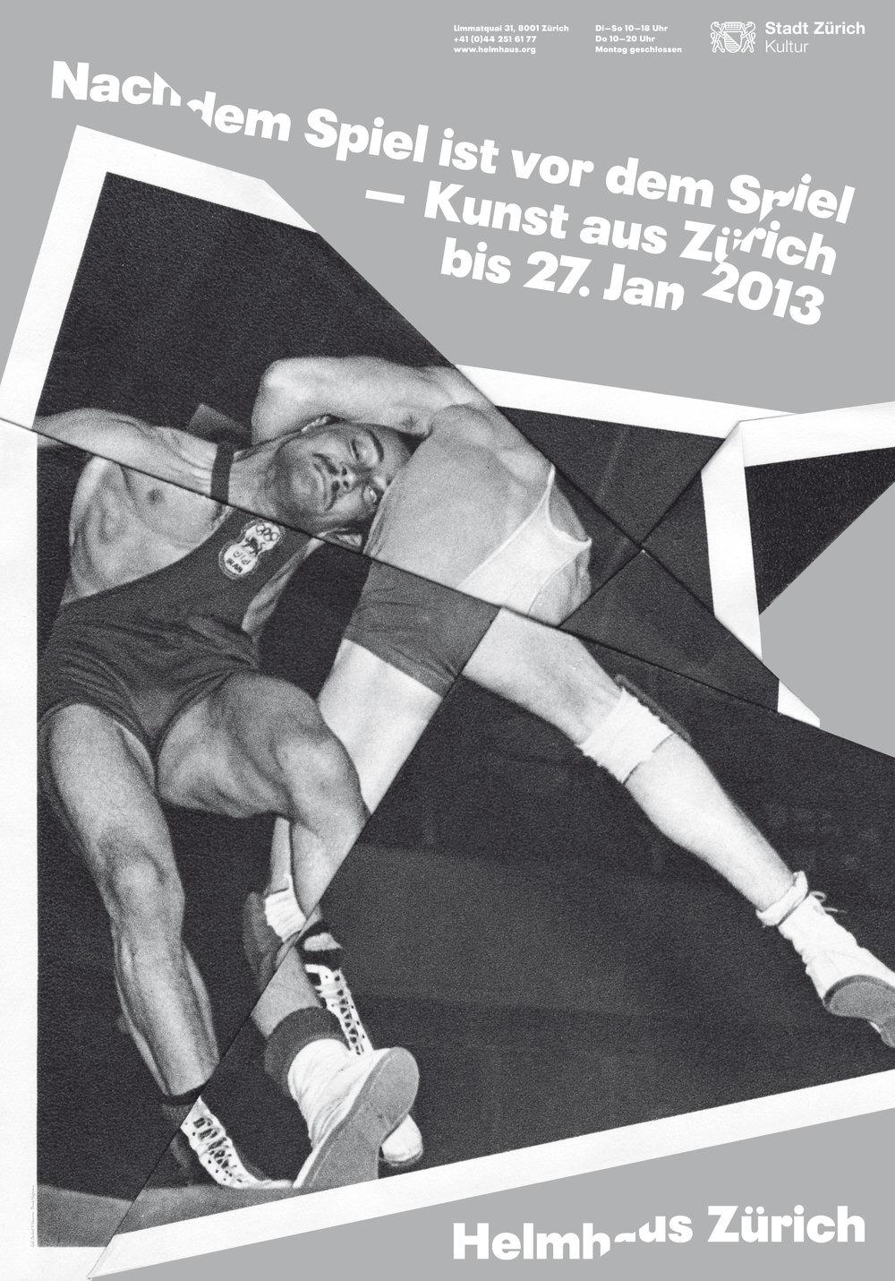 Plakat zur Ausstellung Grafik: Hammer