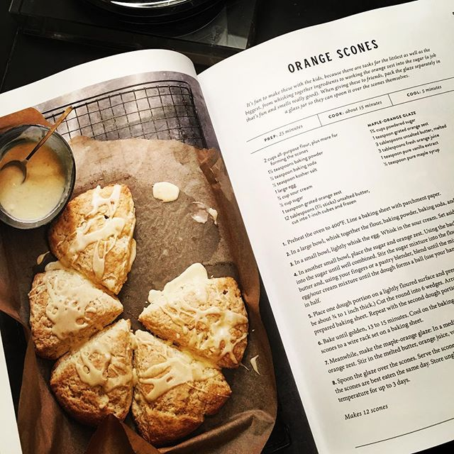 Yes, of course I pre-ordered my copy of Magnolia Table! And these scones are the first recipe I'm making! . . . #magnoliatablecookbook #scones #recipe #baking #breakfast #homemade #yummy #waco