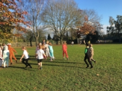 Raising money in the sunshine, and having great fun too.What better way to spend a Friday afternoon!