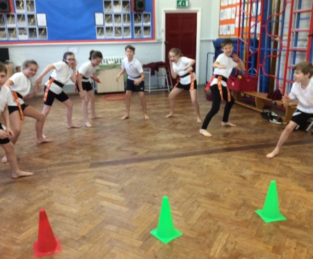 Lowsonford's Egyptian themed Kabadi, in 'Real PE' last Wednesday!