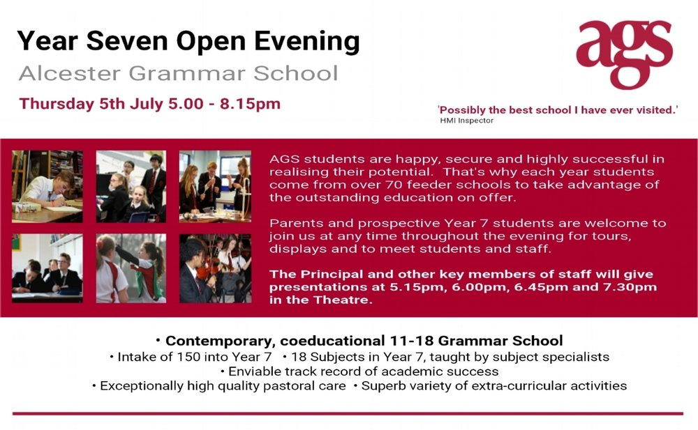 Year 7 Open Evening at AGS - Thursday 5th July 2018 (1).jpg