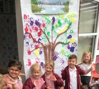 Reception's Friendship Tree.