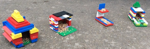 lego bird feeders