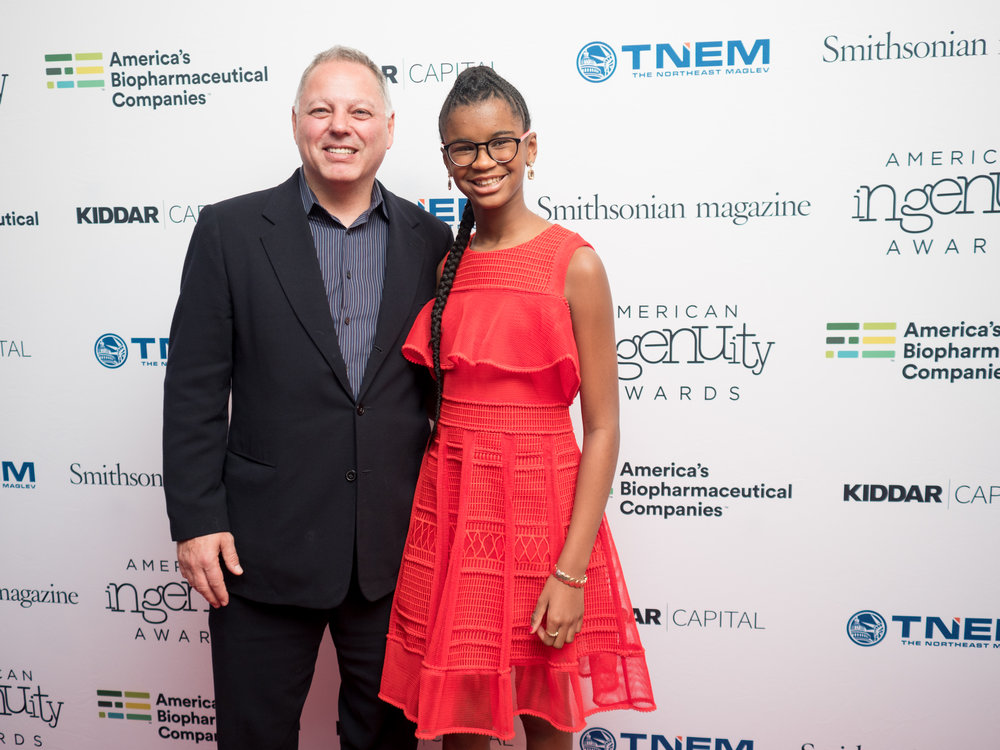 Smithsonian Magazine Editor in Chief, Michael Caruso and Marley Dias