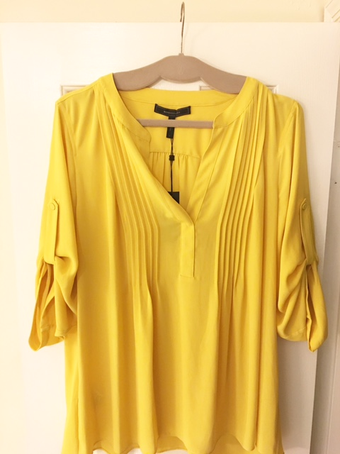 BCBG Sunflower Blouse