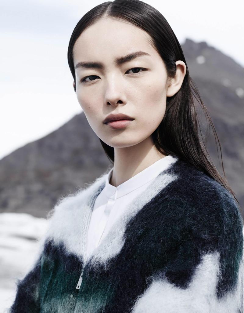 Model and Estee Lauder beauty ambassador Sun Fei Fei