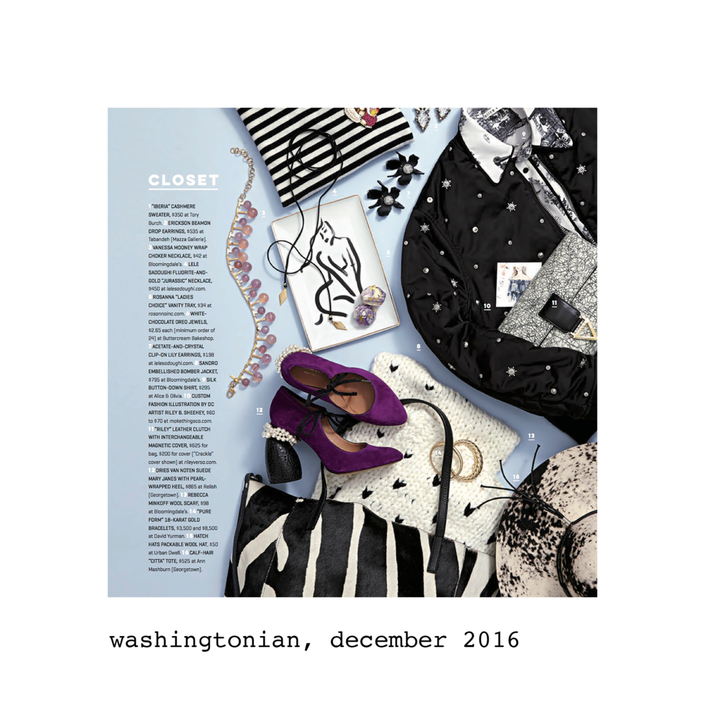 Washingtonian, December 2016