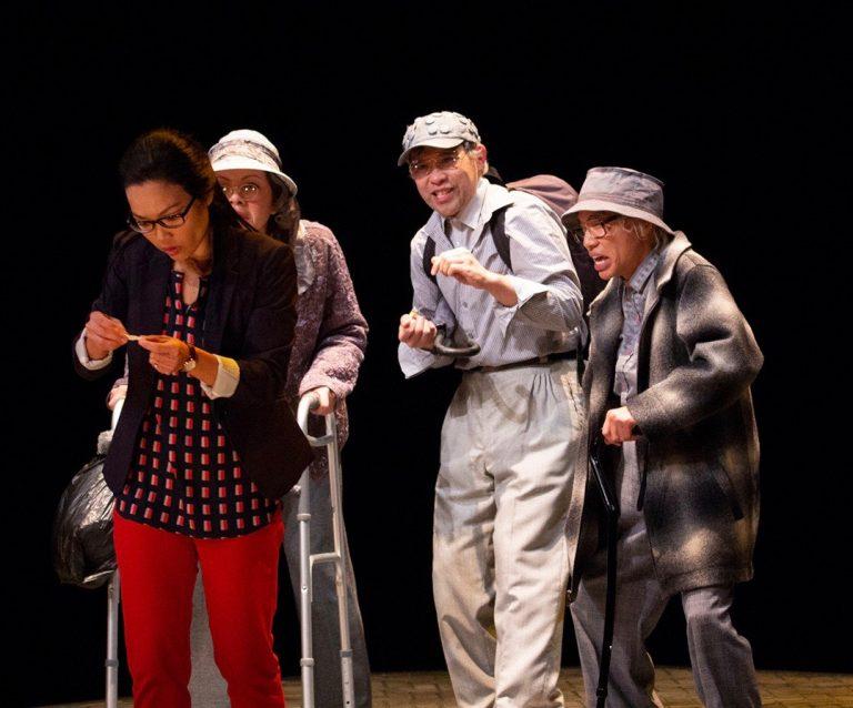 Khanh Doan, Celeste Den, Joe Ngo, and Tony Aiden Vo.  Photo by Bill Geenen.