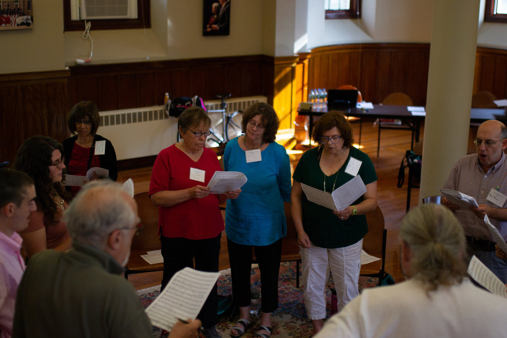 Small group rehearsal Beville Strauss et al.jpg