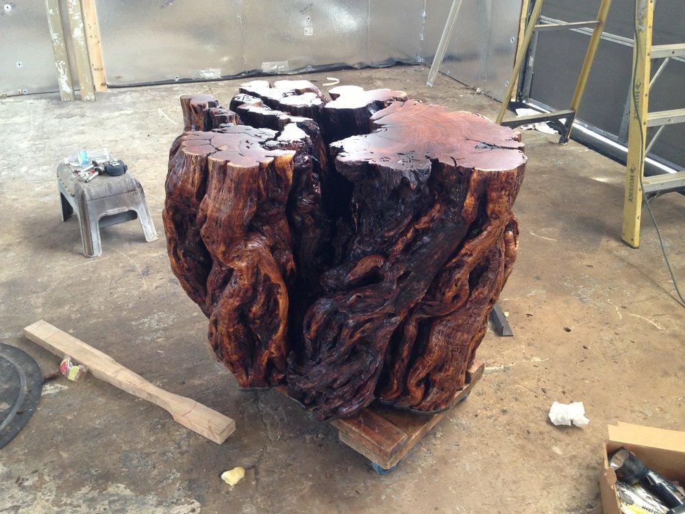 Mesquite Burl Table Base (3).JPG