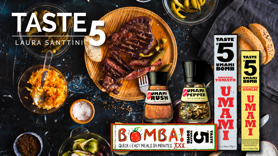 The Taste5 Collection is your secret to cooking with the magic of umami every day.