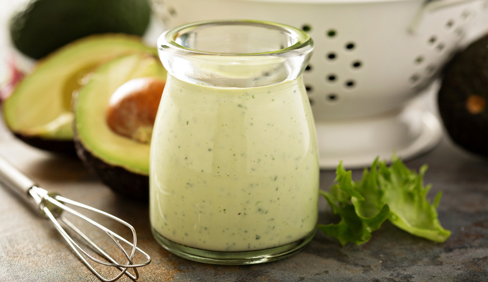 Green Goddess Dressing - with Taste5 Vegetarian paste