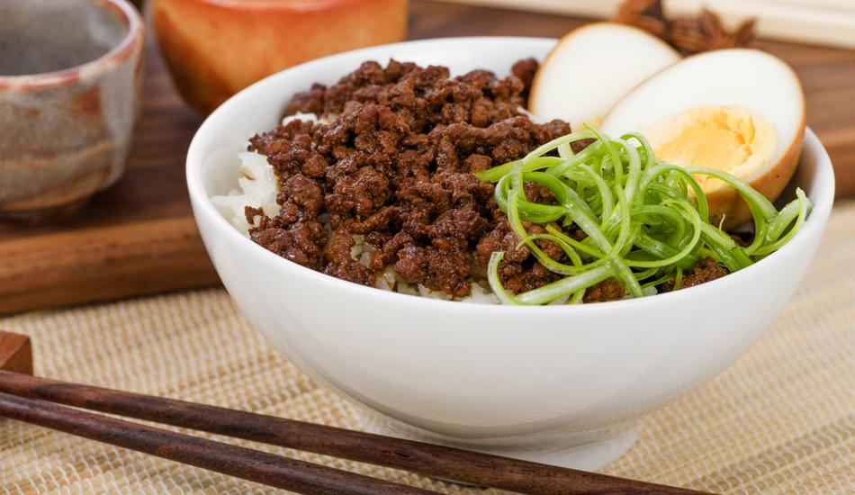 Bento Soboro Beef - with Taste5 Vegetaraian
