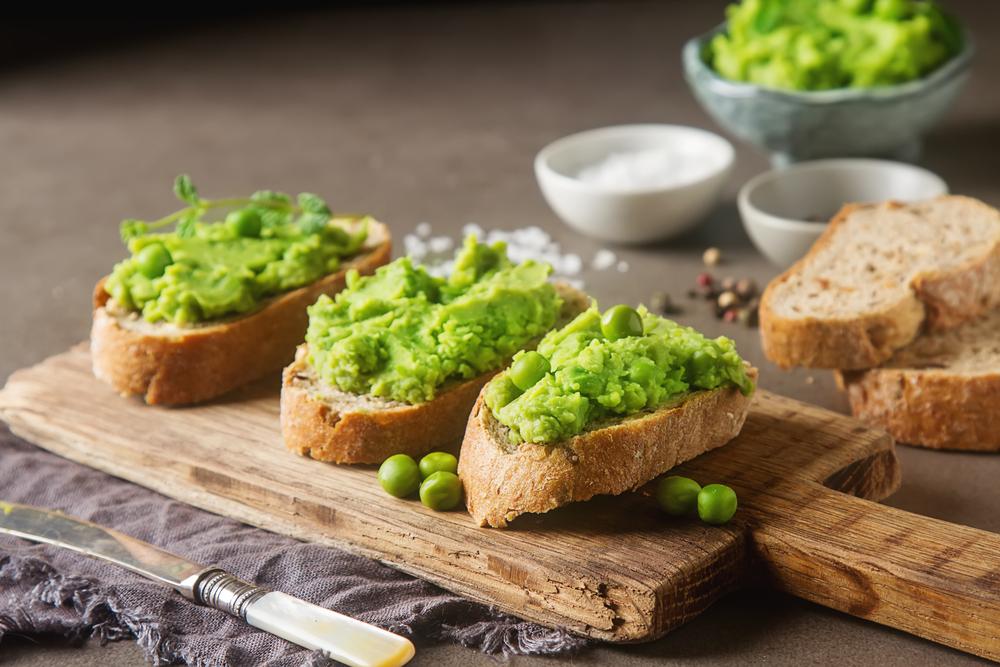 Pea Hummus - with Taste5 Vegetarian