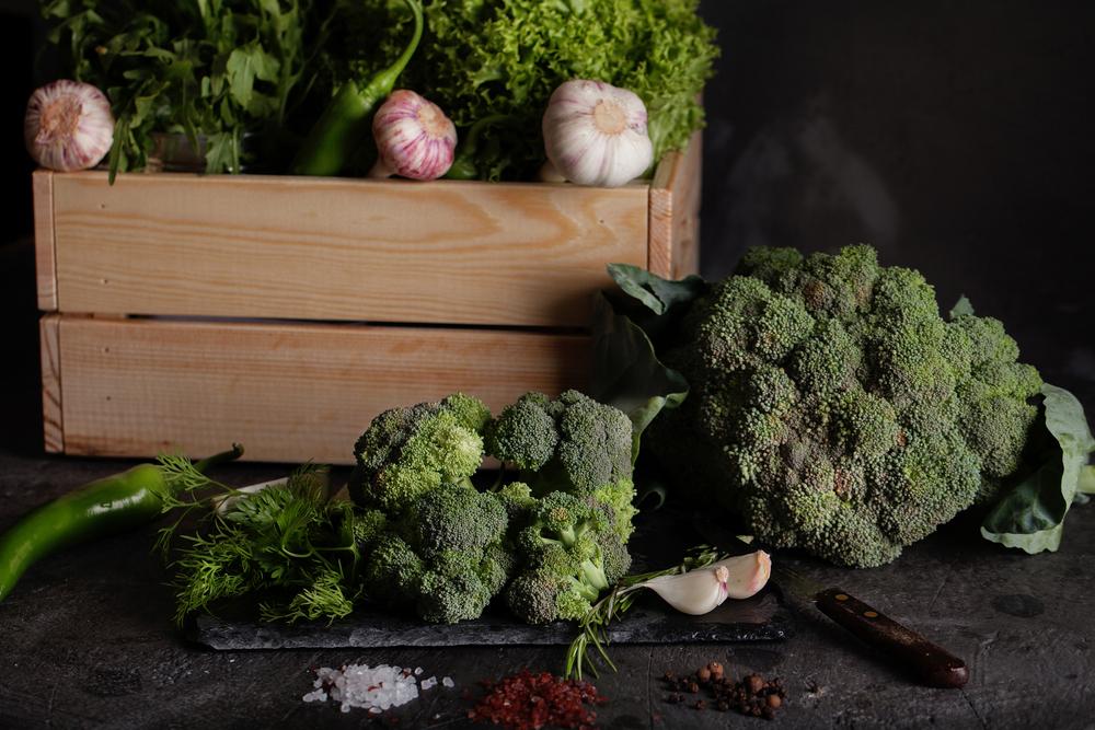 Oven Roast Broccoli - with Taste5 Vegetarian